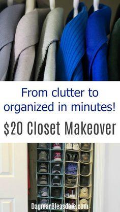 Easy closet organizi
