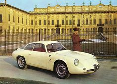 Zagato - Alfa Romeo TUBOLARE G 1963 by ROGERIOMACHADO, via Flickr  You sweet little thing...........
