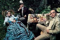 Alice in Wonderland via Annie Leibowitz in Vogue