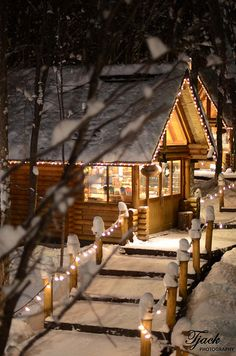 Ningle Terrace in Furano, Hokkaido Japan via flickr