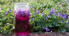 Five Uses for Violet Vinegar