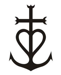 Croix de camargue croix camarguaise croix de camargue - Tatouage croix signification ...