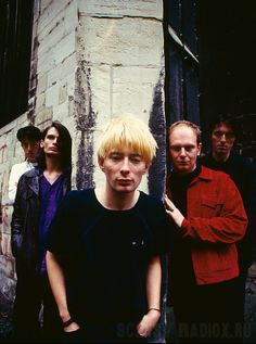 Radiohead/1994/Photo by Kevin Cummins