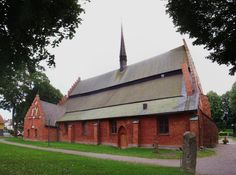 Old Red Brick Church (Kyrkan).  Lots of Pictures and Stories About Bicycle Tour Adventures