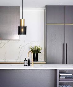 Shop Original BTC Lighting @ Olson and Baker Layout Design, Design Ideas, Dark Kitchen Cabinets, Black And White Interior, Beautiful Dining Rooms, Modern Bar Stools, Bespoke Kitchens, Modern Kitchens, Interior Design Kitchen