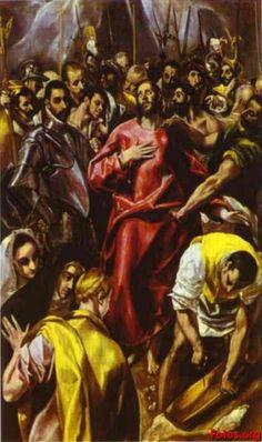 El Espolio. El Greco