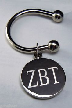 Your Fraternity Silver Greek Letter Key Ring NEW | eBay ✿