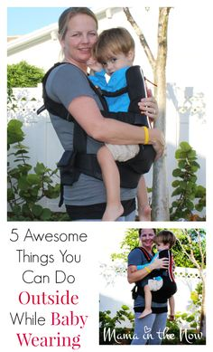 5 awesome things you can do outside while #babywearing + #giveaway from @mamainthenow