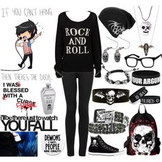 """If You Can't Hang, Then There's The Door!"" by xxxburningcoldxxx on Polyvore"
