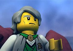 Probably the best part. XD I mean, c'mon, Garmadon just facepalmed!