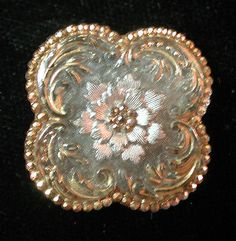 STUNNING!!! RARE!! 4-LOBED ANTIQUE QUATREFOIL LACY GLASS BUTTON in Antiques, Sewing (Pre-1930), Buttons | eBay