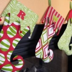 Funkify Your Christmas Stockings {Christmas Stockings}