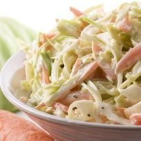 Coleslaw is a cabbage salad mixed with mayonnaise and other vegetables. This is one of the favorite salads of Filipinos, normally served in burgers or as a side dish. It's actually not that hard to make Coleslaw. With the right Continue reading → Coleslaw Salad, Creamy Coleslaw, Món Salad, Vinegar Coleslaw, Coleslaw Dressing, Healthy Meals, Easy Meals, Healthy Recipes, Fast Recipes