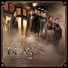 Fantastic Beasts 2017 Wall Calendar #potter [affiliate-link]