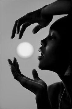 In Black & White...<3