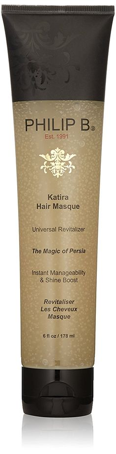 PHILIP B Katira Hair Masque, 6 fl. oz. >>> This is an Amazon Affiliate link. You can find more details by visiting the image link.