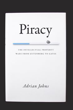 I think this a good example of design because of its clean layout. I think the designer managed to convey the mood of the book without using the cliché imagery that is normally associated with piracy. The serif typeface is a fitting choice because it is not overly ornate and it matches the subdued tone of the cover despite the exciting topic of the book.
