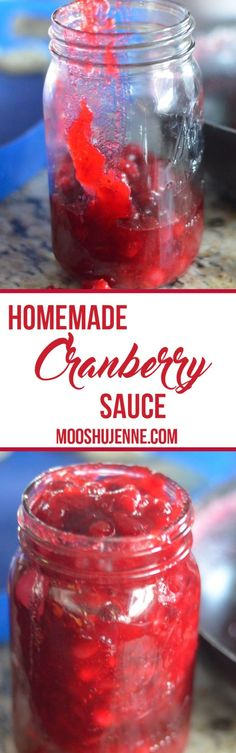 Recipe to make cranberry sauce and add a few more ingredients to make it a pie.