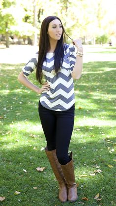 New CHEVRON top we can't get enough of!!
