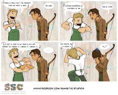 Hunger Games humor.  :)