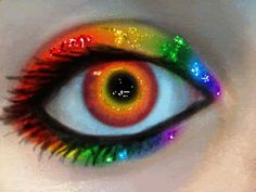 Glitter Graphics: the community for graphics enthusiasts! Pretty Eyes, Cool Eyes, Beautiful Eyes, Amazing Eyes, Amazing Makeup, Glitter Balloons, Glitter Gif, Pink Glitter, Rainbow Eyes