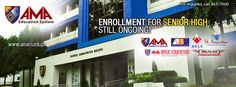 Enrollment for Senior High still ongoing! Enroll now for #AMASeniorHigh at any AMA College, ACLC, ABE College or St. Augustine campus nearest you. Official website: www.amaes.edu.ph Follow @amaeducsystem on Twitter and Instagram