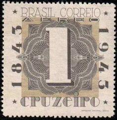 Centenary of brasilian stamps - BRAPEX II