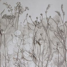 UK artist Rachel Dein, plaster casts plants to create beautiful Fossil Flowers | Creative Boom
