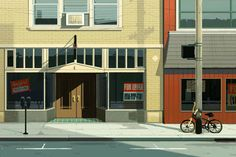 I did a piece for an article about small businesses struggling in small towns the NY Times Sunday Review—here is the link to the article and animated gif. Thanks AD Erich Nagler!