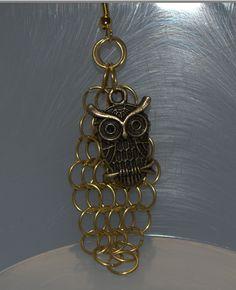 Owl Cascade Earrings