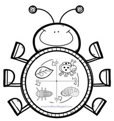 E-mail - Jenny van Losser - Rozendom - Outlook Spring Activities, Kindergarten Activities, Book Activities, Preschool Activities, Insect Crafts, Insect Art, Fruit Coloring Pages, Coloring Books, Farm Animal Crafts
