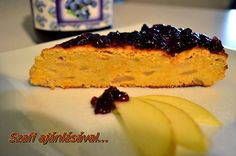 FITT Alma-répa-kókusztorta Healthy Recipes, Healthy Meals, French Toast, Fitt, Paleo, Breakfast, Diets, Healthy Crock Pot Meals, Morning Coffee