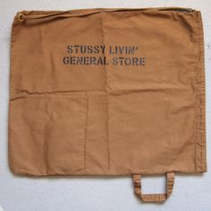 STUSSY Livin' - Laundry Bag #brown