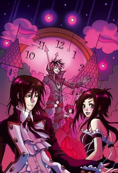 """A goth fairy tale  """" cinderella  the tale of the two Princes """"  from Vampire kiss - grave yard games  --- <3 <3 <3"""