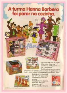 Brinquedos Hanna Barbera #nostalgia