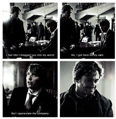 "I was worried you were dead .  . . Hannibal ""Fromage"""