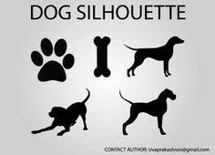 siluetas perros - Buscar con Google