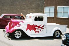 cars with flames photos - Google Search