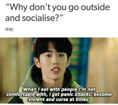 Honestly this couldn't be more me😂😂 Korean Drama Funny, Korean Drama Best, Korean Drama Quotes, Kdrama Memes, Funny Kpop Memes, My Love From The Star, Fangirl Problems, Funny Laugh, Really Funny