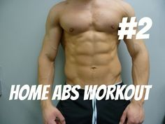 Home Abs workout #2