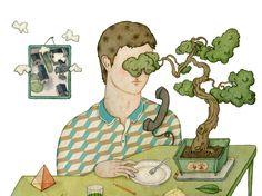 editorial illustrations 2014 / whooli chen