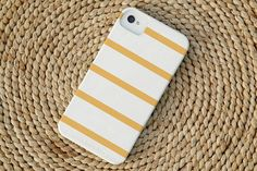 skinny stripe iphone case