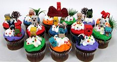 MINECRAFT 24 Piece Birthday CUPCAKE Topper Set Featuring Mini Minecraft Figures and Decorative Themed Accessories Figures Average 12 to 1 Inch Tall >>> Read more at the image link. Minecraft Party Activities, Minecraft Party Supplies, Minecraft Birthday Party, 6th Birthday Parties, Minecraft Gifts, Minecraft Ideas, 7th Birthday, Birthday Ideas