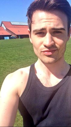 Michael Auger of Collabro, photo by MICHAEL AUGER :D, @MichaelCollabro on Twitter
