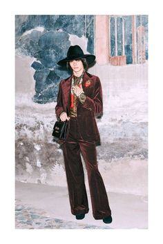 Gucci Pre-Fall A Whole New Batch of Menswear Eye Candy from Alessandro Michele - GQ Gucci Fashion, Runway Fashion, Fashion News, Fashion Show, Mens Fashion, Fashion Brands, Alessandro Michele Gucci, Winter Trends, Mode Style