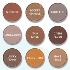 NEW Makeup Geek neutrals! Which one is your fave?