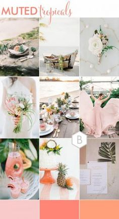 We're bringing you even more ideas today with a roundup of our 5 Must See Wedding Moodboards as part of our Best of B.LOVED series this week! Wedding Color Pallet, Wedding Color Schemes, Minimalist Wedding Invitations, Floral Wedding Invitations, Wedding Themes, Wedding Styles, Wedding Ideas, Outdoor Wedding Inspiration, Summer Wedding Colors