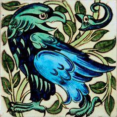 Tile, by William de Morgan