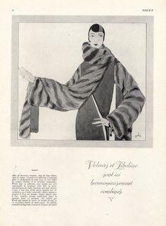Worth 1931 Mainbocher, Fashion Illustration