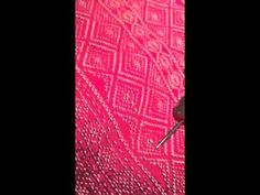 Fixing a pull in a woven wrap - video